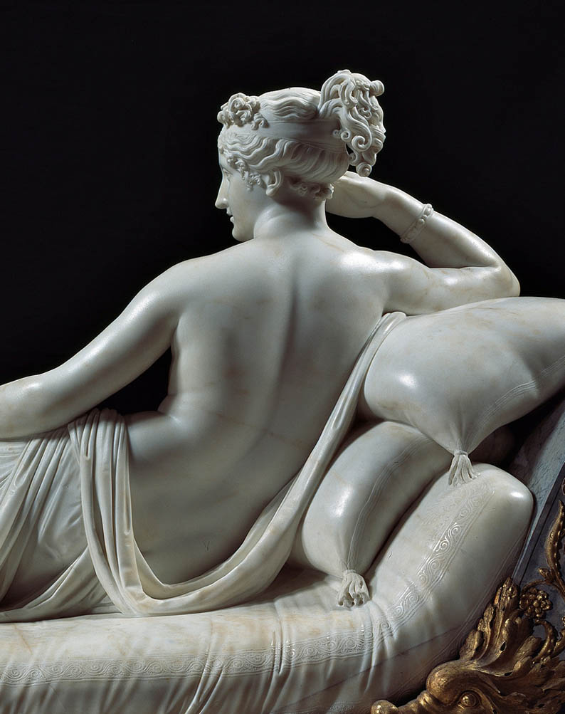 Paolina Borghese Bonaparte as Venus Victrix (retro)