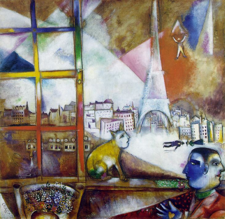 Paris par la fenêtre (1913)
