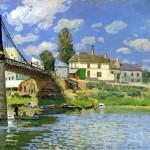 Pont de Villeneuve-la-Garenne (1872)
