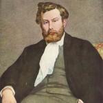 Portrait d'Alfred Sisley (1864)
