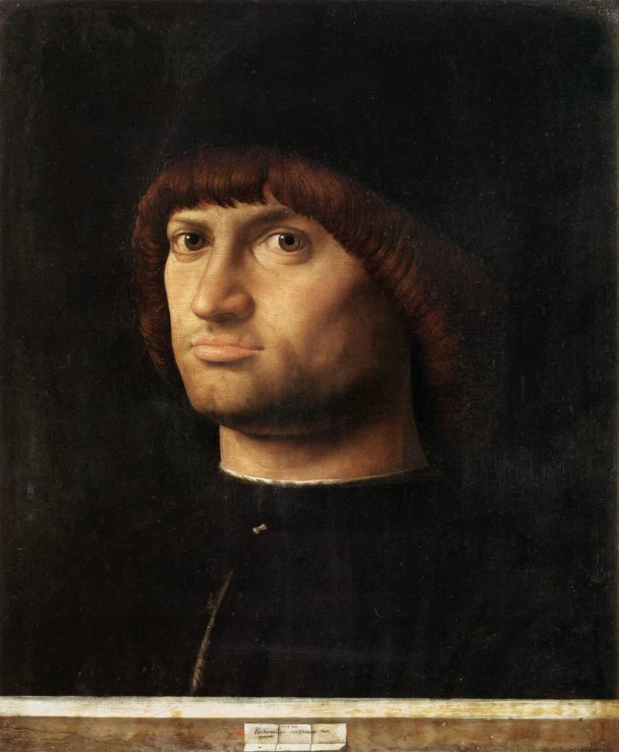 Ritratto d'uomo, Il Condottiere (1475)
