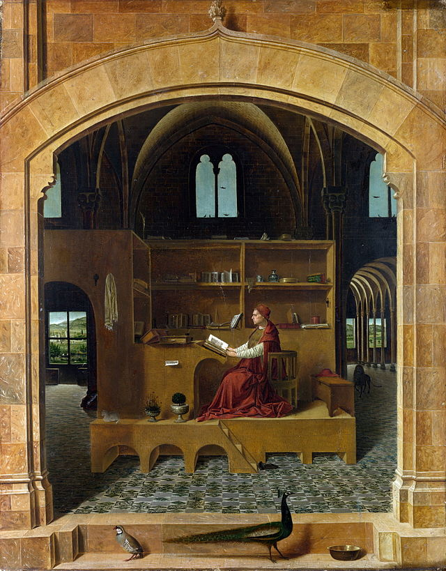 San Gerolamo nello studio (c 1475)