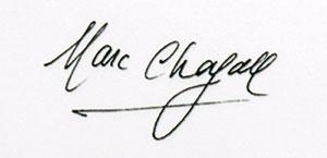 chagall_signature