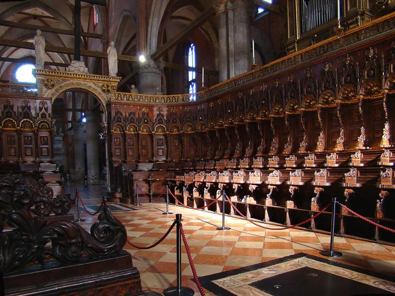 Basilica dei Frari-Coro 2