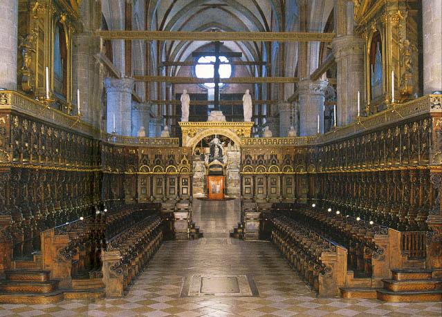 Basilica dei Frari-Coro di Marco Cozzi
