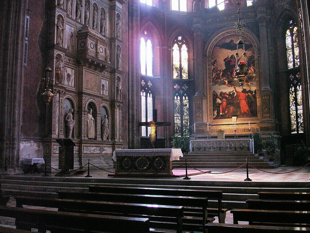 Basilica dei Frari-altare maggiore