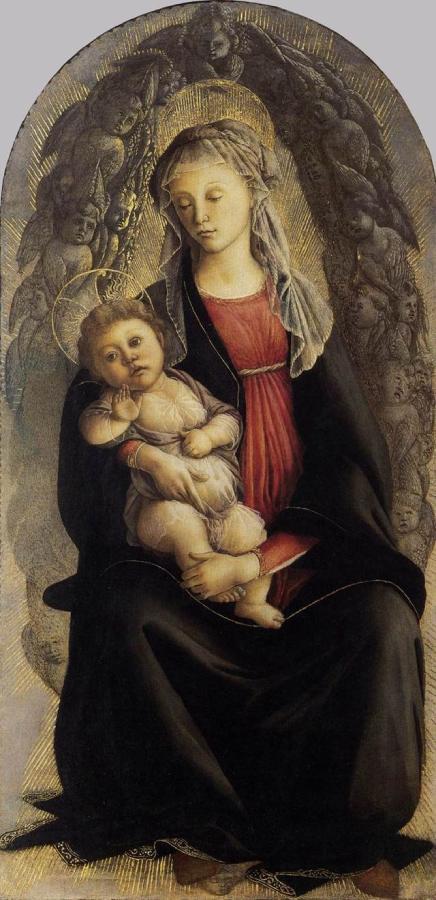 Madonna in gloria di serafini (1469-1470)