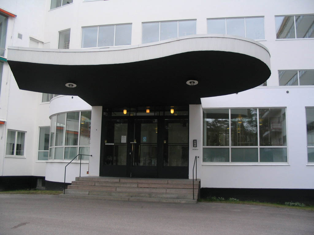 Paimio Sanatorium (entrance)