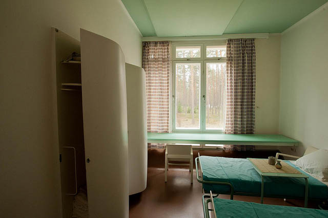 Paimio Sanatorium (room)