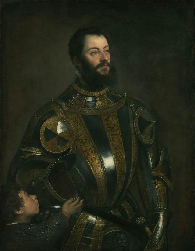 Ritratto di Alfonso D'Avalos, Marchese del Vasto (1533)