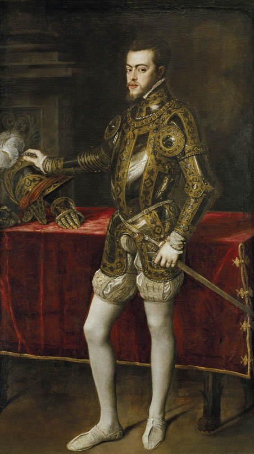 Ritratto di Filippo II in armatura (1551)