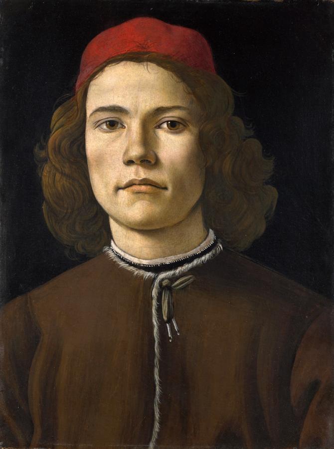 Ritratto di giovane uomo (1480-1485)