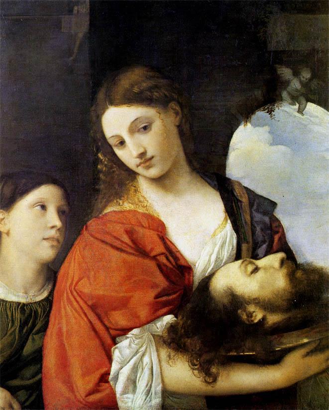 Salomè con la testa del Battista (c. 1515)