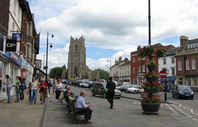 Sudbury, Suffolk (England)