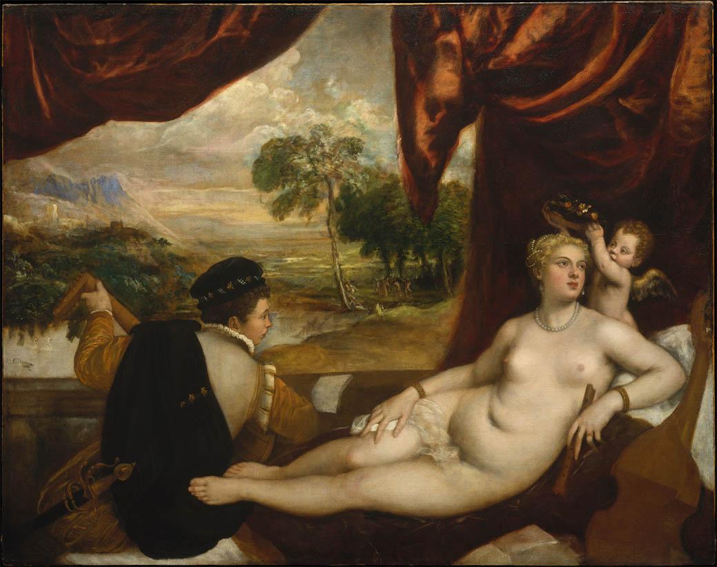 Venere e il suonatore di liuto (1565-1570)