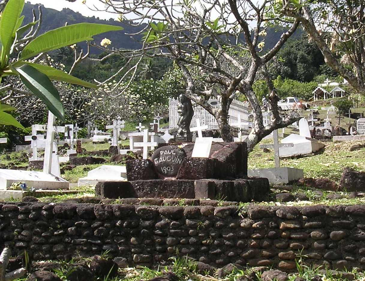 Calvary Cemetery, Atuona, Hiva-oa, Marquesas Islands