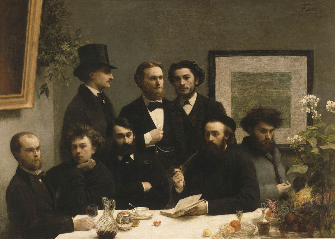 Coin de table (1872)