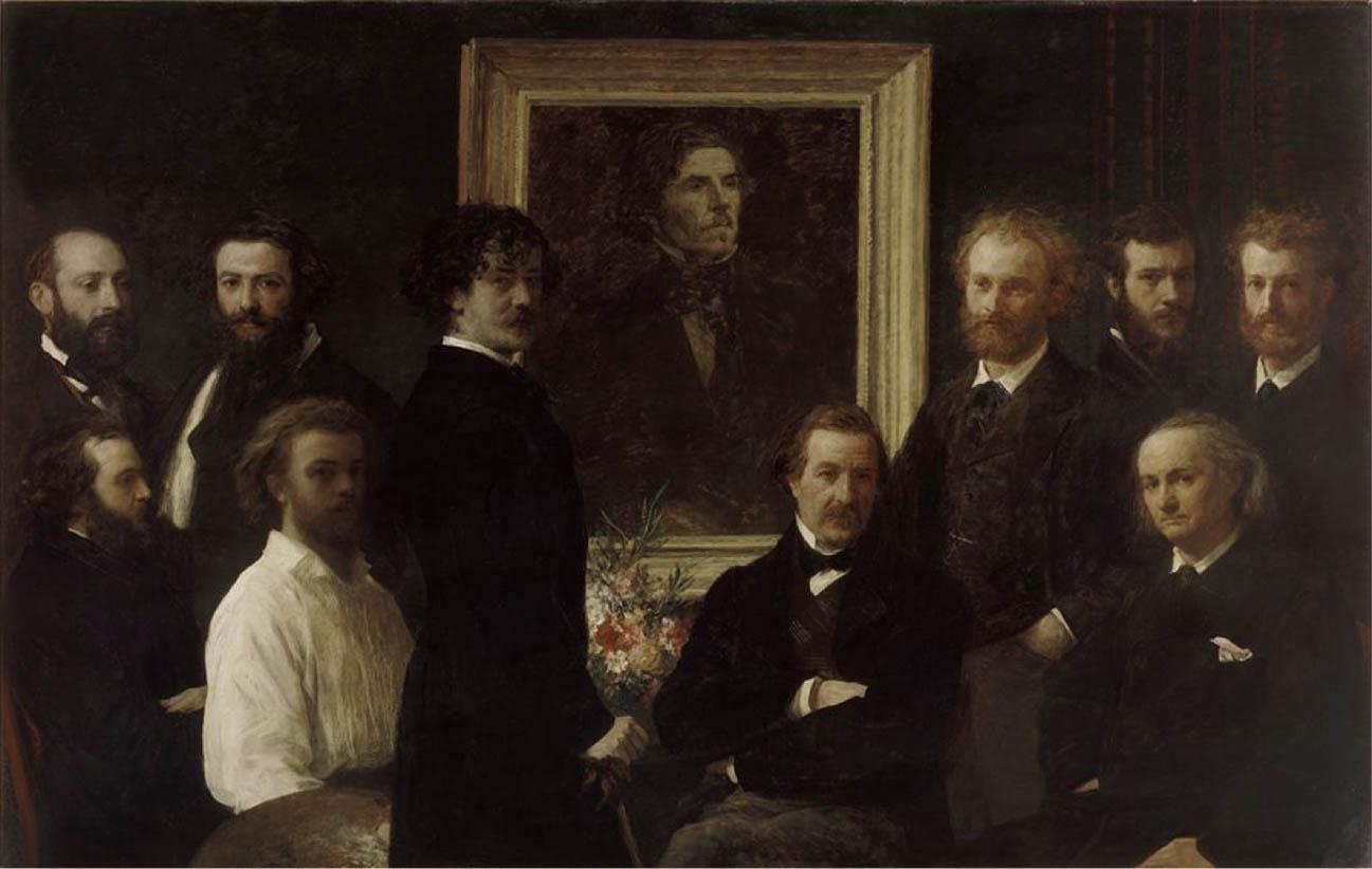 Hommage à Delacroix (1864)
