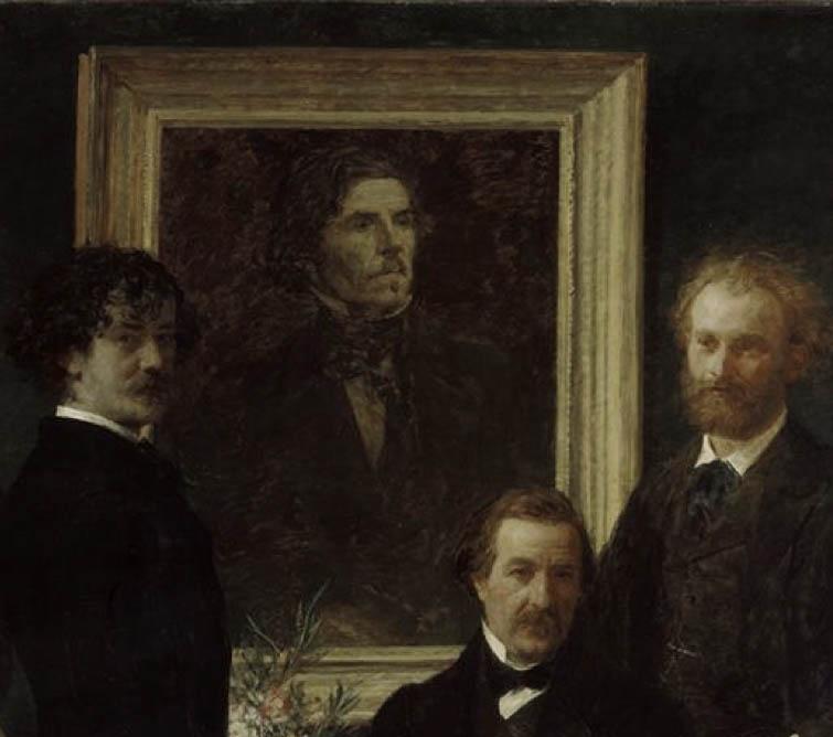 Hommage à Delacroix (center)