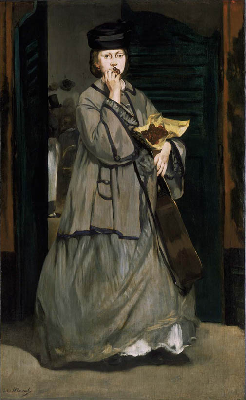 La Chanteuse de rue (c 1862)
