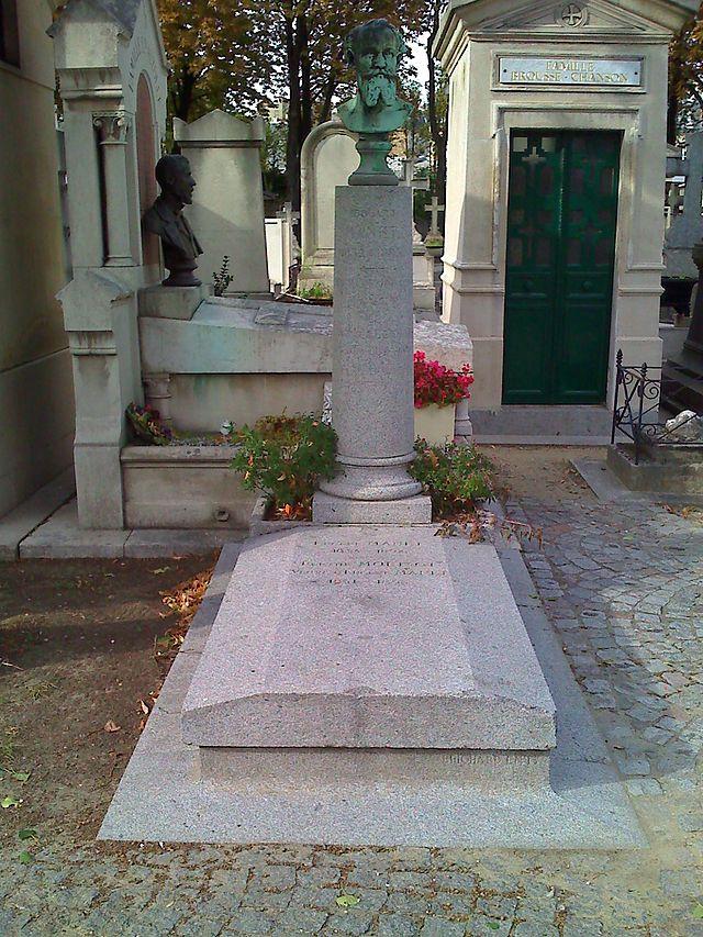 La tombe de Manet à Passy