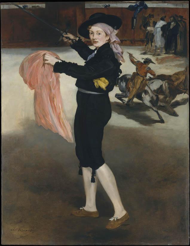 Mlle V. en costume d'espada (1862)