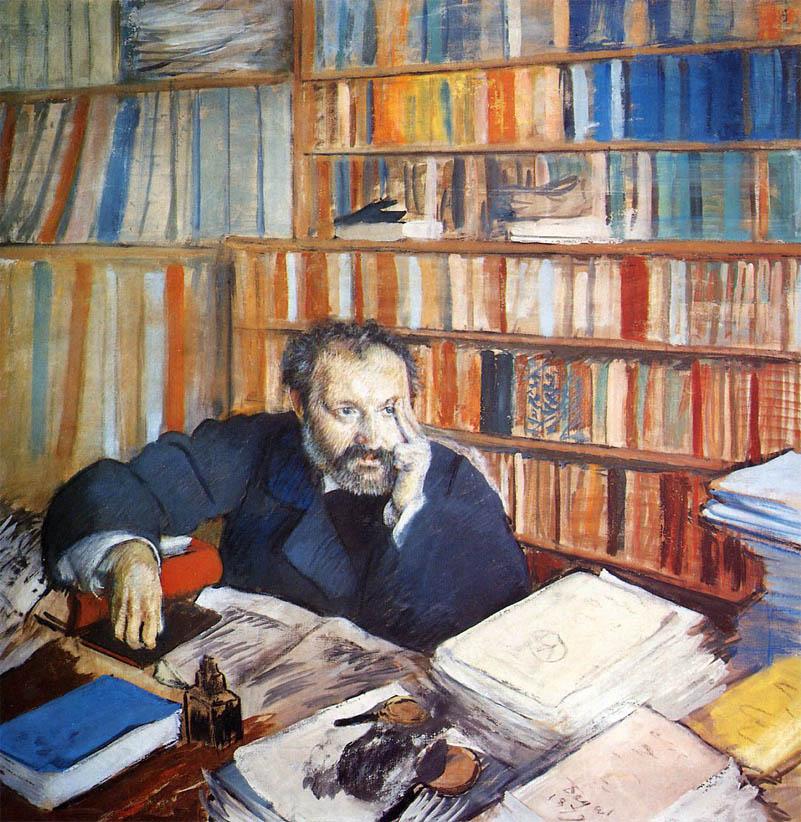 Portrait d'Edmond Duranty (1879)