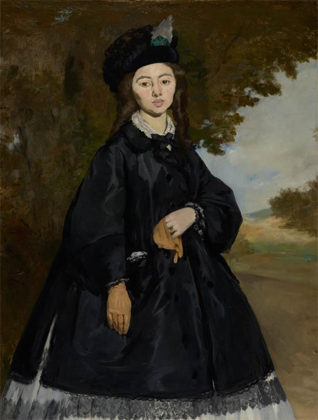 Portrait de Madame Brunet (1867)