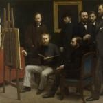 Un atelier aux Batignolles (1870)