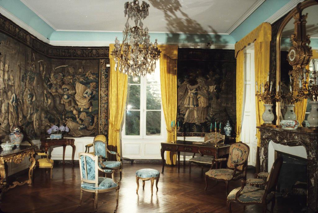 Une pièce du château du Clos Lucé