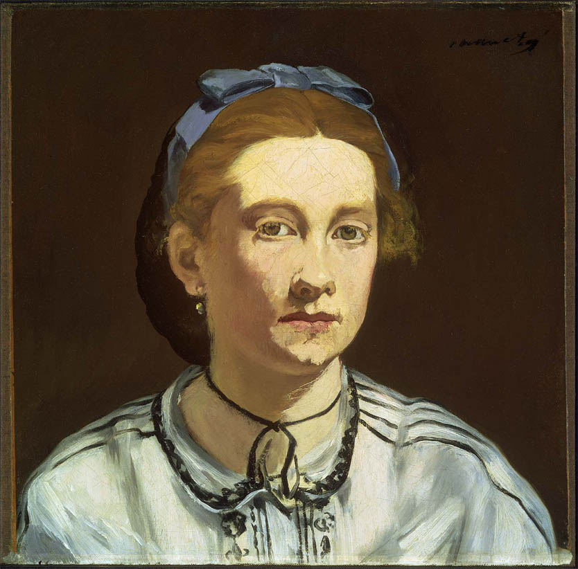 Victorine Meurent (c 1862)