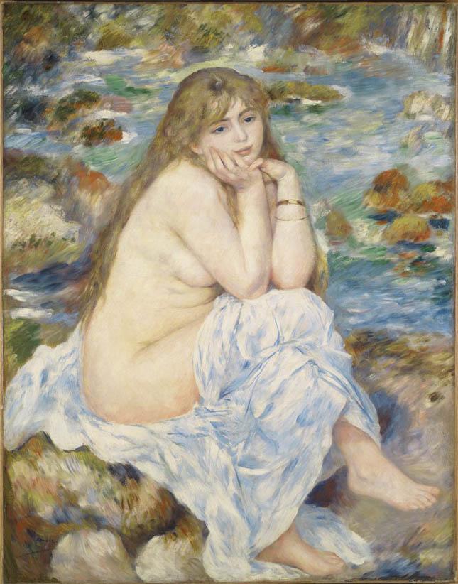 Baigneuse assise (1883-84)