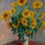Bouquet de soleils dans un vase (1881)