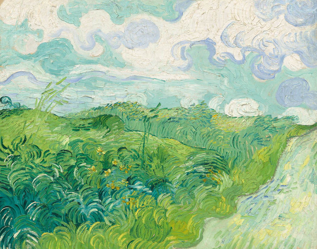 Green Wheat Fields, Auvers (1890)