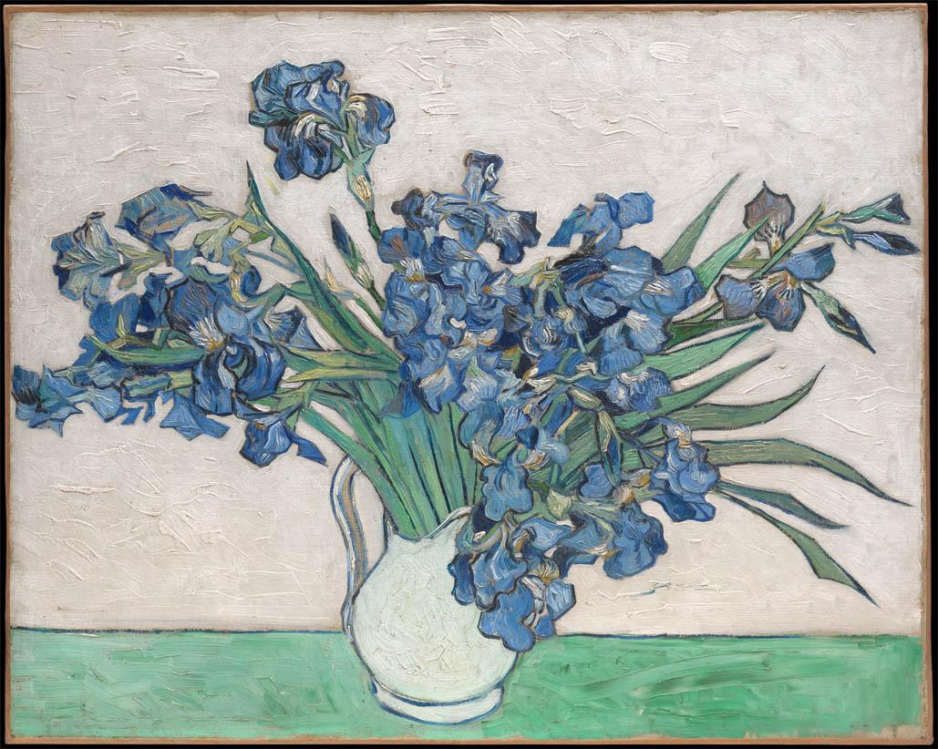 Irises (1890-F 680, JH 1978)