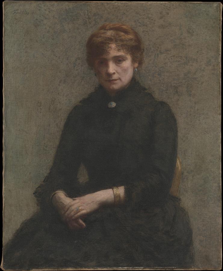 Portrait de Femme (1885)