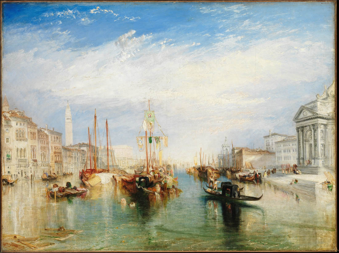 Venice, from the Porch of Madonna della Salute (c. 1835)