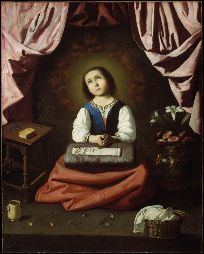 Virgen Niña (1632-1633)
