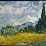 Wheat Field with Cypresses (1889-F 717, JH 1756)