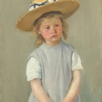 Child in a Straw Hat (c1886)