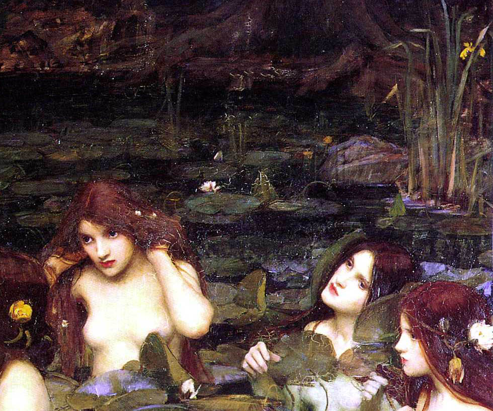 Hylas and the Nymphs (1896-d-2)
