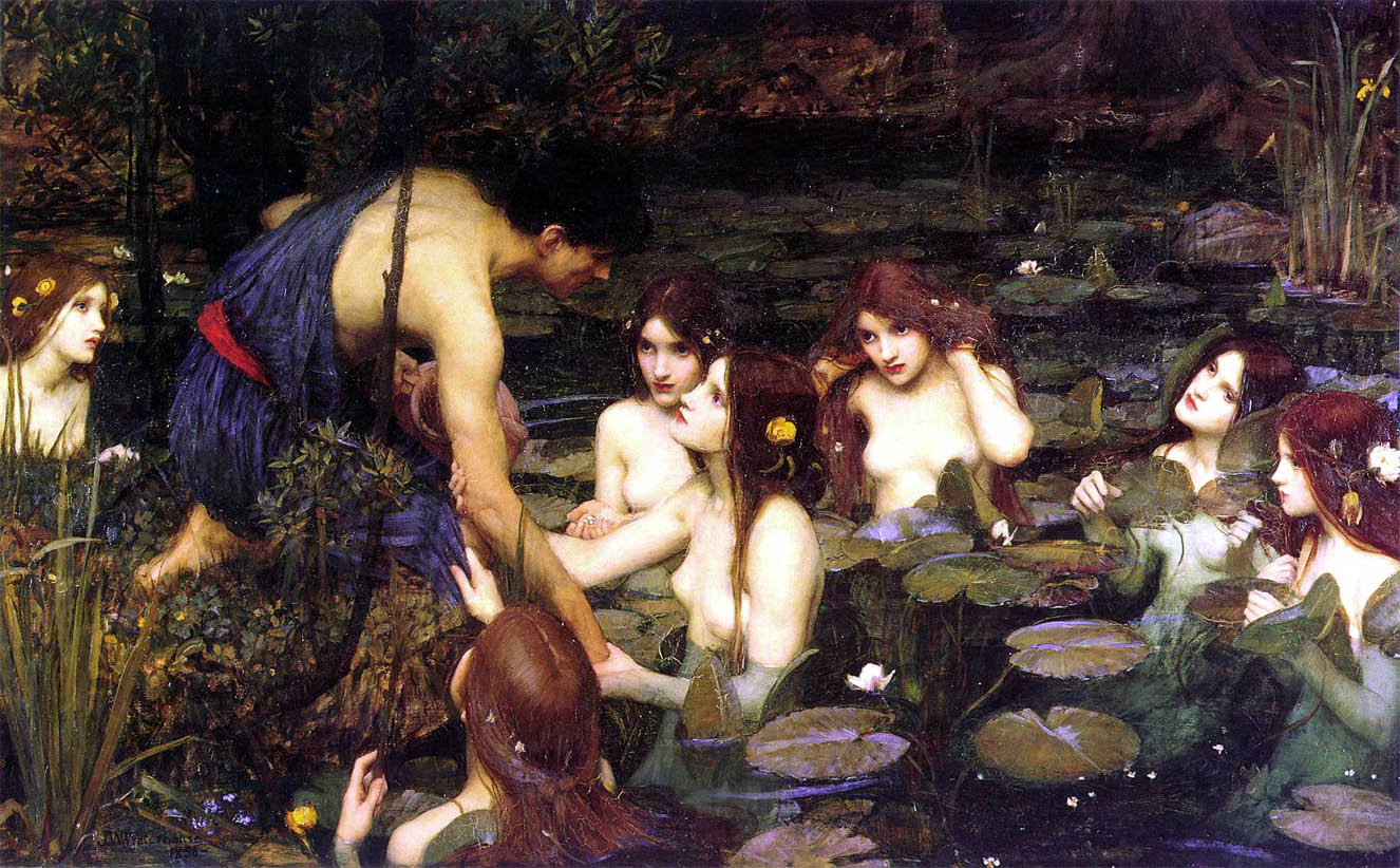 Hylas and the Nymphs (1896)
