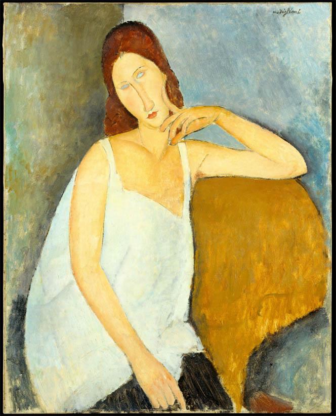 Jeanne Hébuterne (MET-1919)