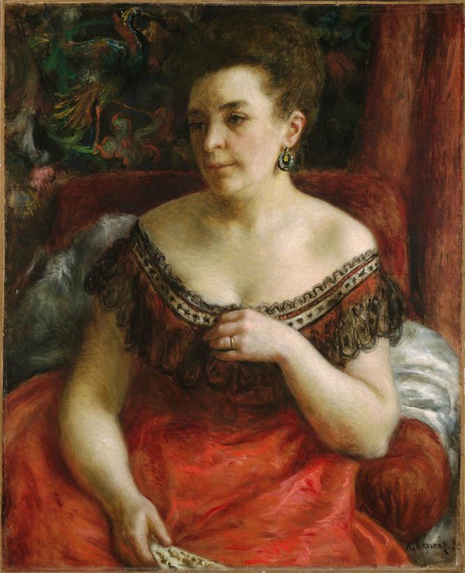Madame Pierre Henri Renoir (1870)