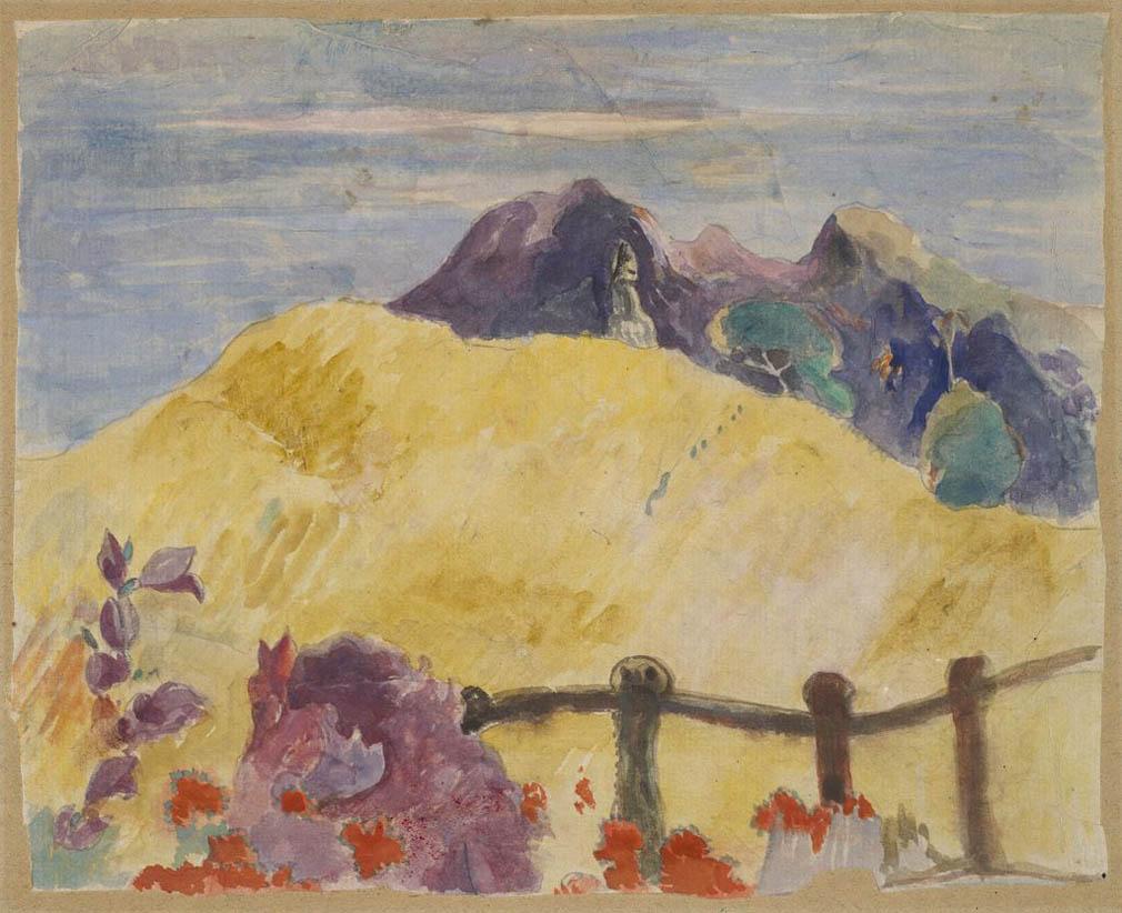 Parahi te marae (c. 1892)