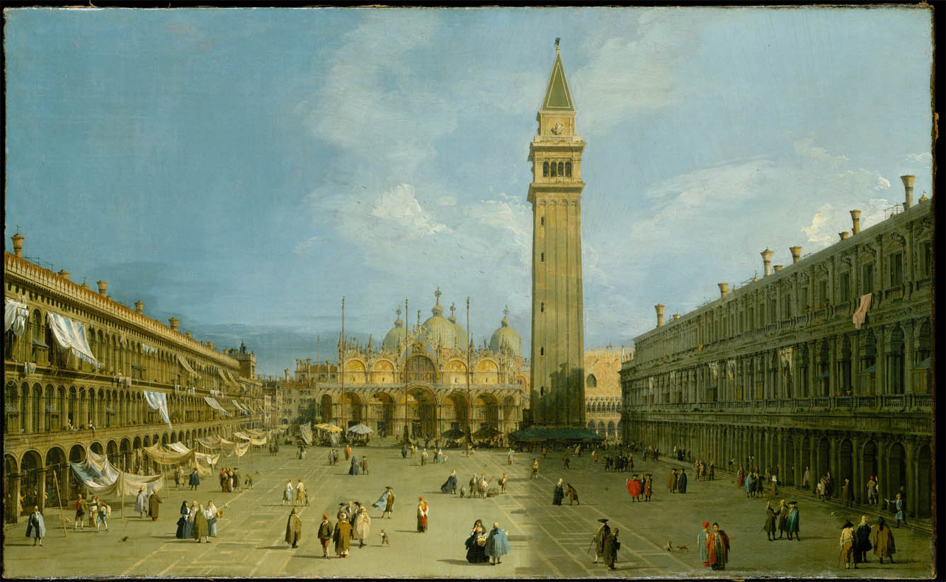 Piazza San Marco (late 1720s)