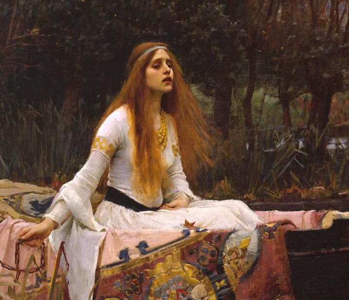 The Lady of Shalott (1888-d-1)