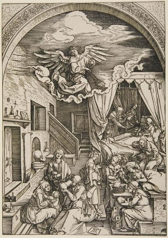 Birth of the Virgin (Dürer)
