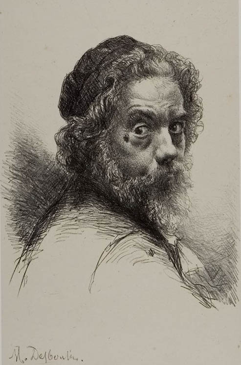 Desboutin, Self-Portrait (c 1875-d)