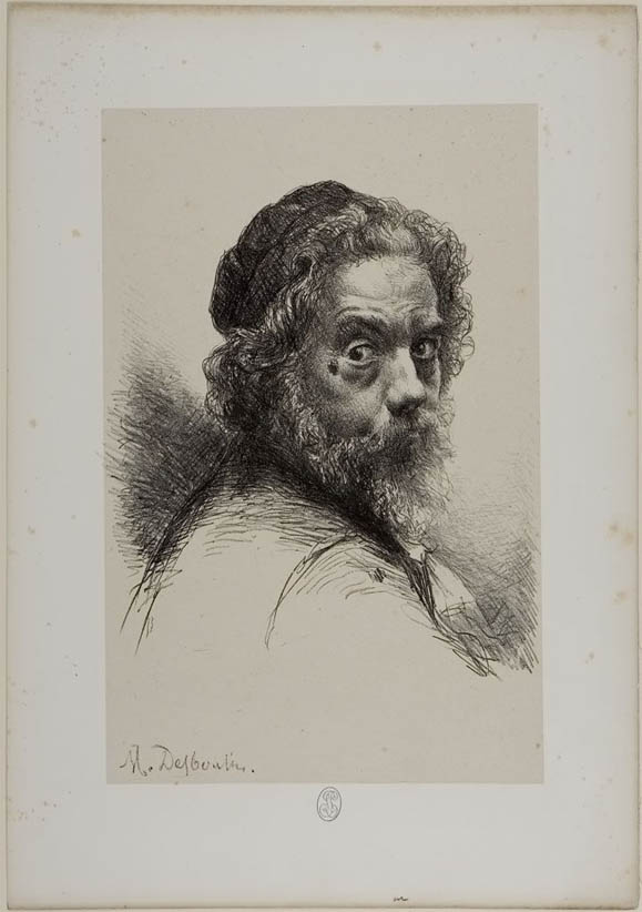Desboutin, Self-Portrait (c 1875)